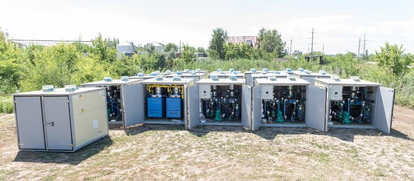 Блочно модульный газовый теплогенератор типа «БМГТ-СЭП»